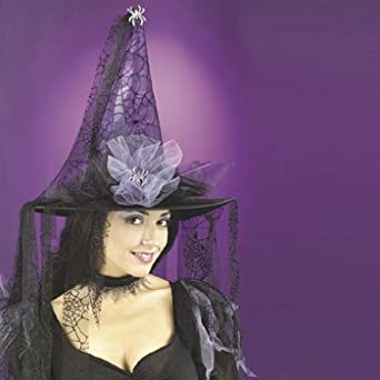 Tattered Witch Hat - Costume Accessories & Costume Props & Kits