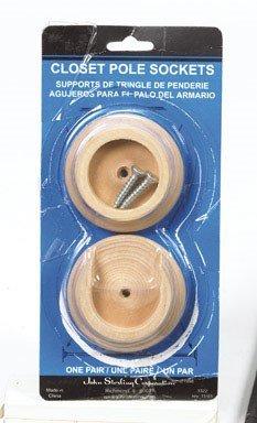 "John Sterling BC-0038-HD Wood Pole Sockets, 1-3/8"""