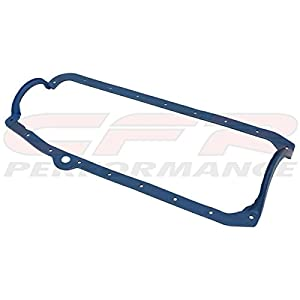 1965-79 CHEVY SMALL BLOCK OIL PAN RUBBER GASKETS - THICK