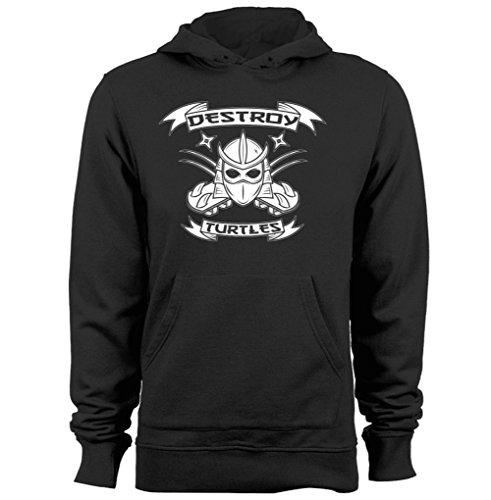 Shredder Destroy Turtles TMNT Teenage Mutant Nija Turtles Unisex cool hoodies