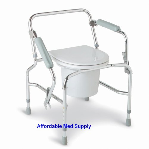 Buy Bedside Commode – Drop Arm – All in One