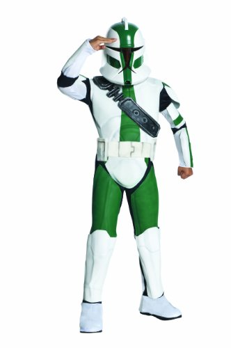 Star Wars The Clone Wars, Commander Gree Deluxe Child's Costume, Small
