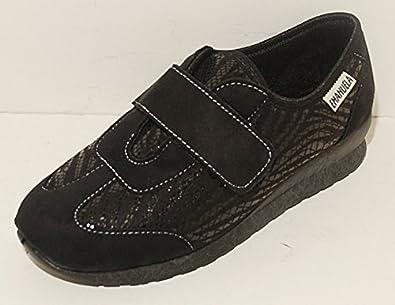 Pantofole Pantofola Donna Nere Nera Nero Scarpe Strappo Velcro Scarpa Made  In Italy EMANUELA Art 2804  Guide! e42c8e9eb31