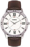 Timex Fashion Analog White Dial Men's Watch - TI002B11300