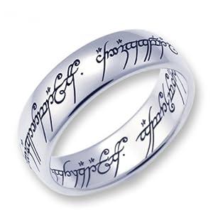 Herr der Ringe Schmuck by Schumann Design Der eine Ring Edelstahl poliert Rg 70 1000-070