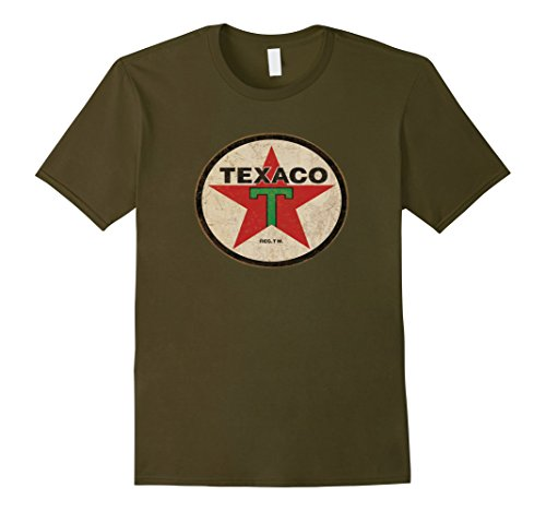 mens-texaco-oil-company-vintage-old-rusted-sign-novelty-t-shirt-xl-olive