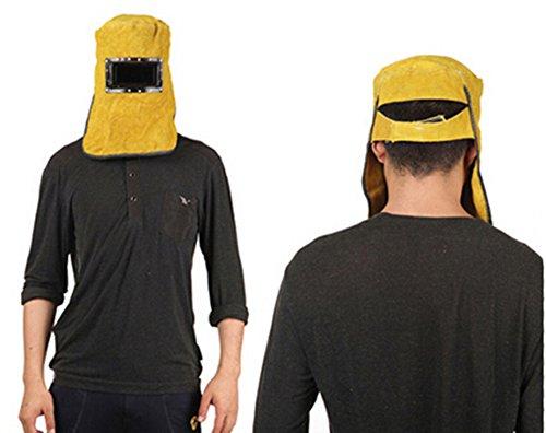 Yellow-Welding-Mask-Cowhide-Split-Leather-Comfortable-Welding-Hood-Helmet-For-Splash-Proof-And-Heat-Resistant