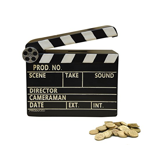 New Retro Movie Clapperboard Money Box Gift