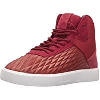 adidas Splendid Mid-Cut Kids Shoes (Mystery Red Cardinal/Ice Purple Fabric)