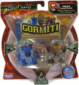 Gormiti Series 2 - Two Pack - Dragon, The Lethal & Diamond, The Ancient Soldier