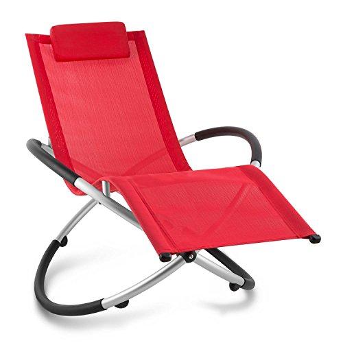 Blumfeldt-Chilly-Billy-Liegestuhl-Relaxliege-Gartenstuhl-Alustuhl-Aluminium-Stuhl-fr-Wohnung-Balkon-Garten-oder-Terrasse-klappbar-Schaukelstuhl-Sicherheits-Stopper-bis-180kg-rot