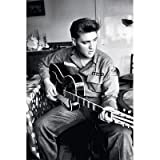 (24x36) Elvis Presley Army Uniform Music Poster Print