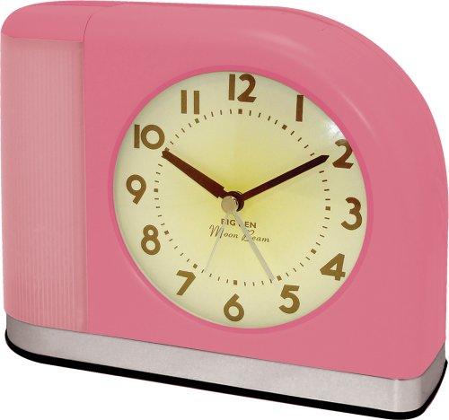 Westclox 1950 Big Ben Moonbeam Pink Alarm Clock 43007X