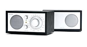 Tivoli Audio Model Two AM / FM Radio, Black/Silver Finish