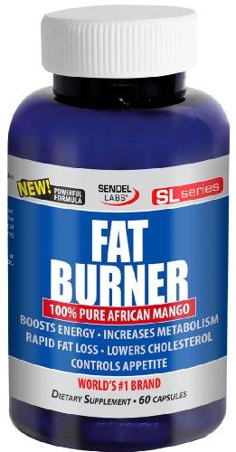 Maximum Strength Fat Burner With 100% African Mango (Irvingia Gabonensis) - 60 Capsules