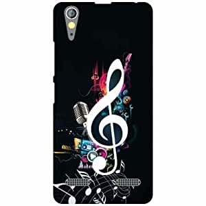 Printland Love Music Phone Cover For Lenovo A6000