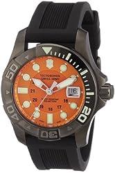 Victorinox Swiss Army Men's 241428 Dive Master 500 Orange Dial Watch