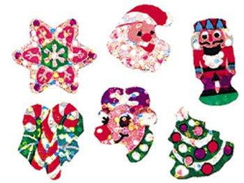 Trend Enterprises Christmas Joys Sparkle Stickers (T-63011)