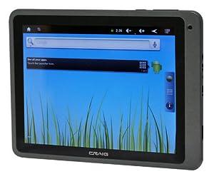 Craig Electronics CMP743d 8-Inch 4 GB Tablet