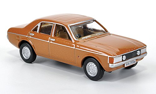 Ford Consul, met.- hellbraun, 1972, Ready Model, Scale - 1:76 Oxford