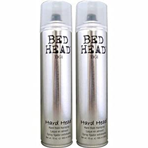 Tigi Bed Head Hard Head Spray 10.6 Oz Each (Pack of 2)