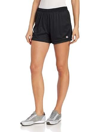 Champion Women's Mesh Short, XS-Black