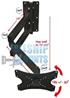 "Extra Long Arm Full Motion Mount for Tv Screen Sizes 19-42"" Can Be Used For Corner"