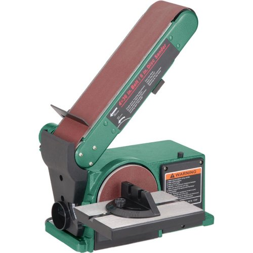 Grizzly G0547 Combo Sander 4″ x 36″ Belt 6″ Disc