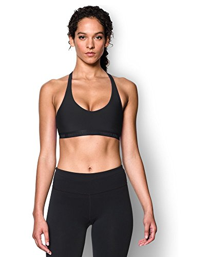 Under Armour Women's Armour Low Bra, Black (001), Small