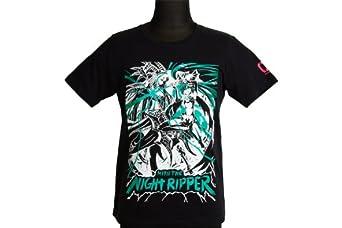 831 5th Anniversary Series【MIKU THE NIGHT RIPPER】クルーネックカットソーTシャツ 初音ミクバージョンMTNR06