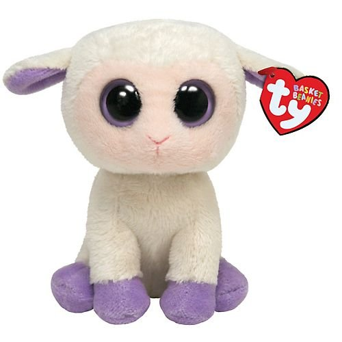 Ty Basket Beanie - Lily The Lamb back-990939