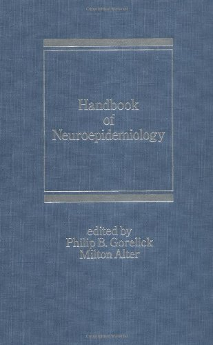 Handbook of Neuroepidemiology (Neurological Disease and Therapy)