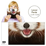Animal Mask Book Cover アニマルマスクブックカバー [ Lesser Panda ]VRT42110