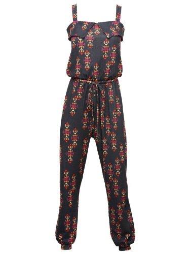 Teen aztec print jumpsuit