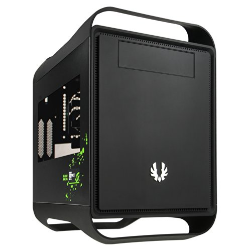 BitFenix Prodigy (mini) Window Black NVIDIA Edition PCケース 日本正規代理店品 CS4785 BFC-PRO-300-KKWSK-NV