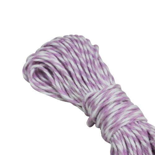 Dress My Cupcake Baker'S Twine String Roll For Gifts And Favors, 15-Yard, Lavender