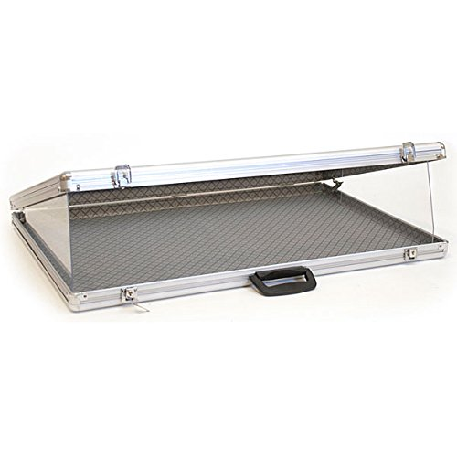 KC Store Fixtures 19406 Portable Display Case, Angled Top, 34