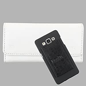 DooDa Genuine Leather Wallet Flip Case Cover With Card & ID Slots For Nokia Lumia 640 LTE