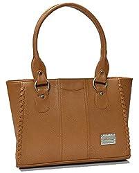 Utsukushii Women's Handbag (Tan) (BG528B)