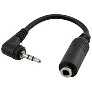 Generic-Universal 2.5 Male to 3.5 Female Headphone/Adaptor