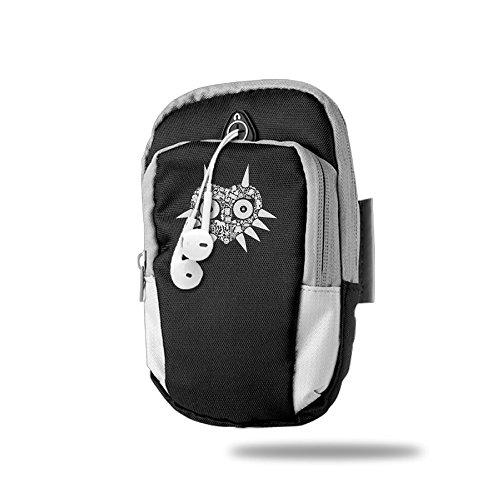 Secret Mask - White Sports Arm Package Black