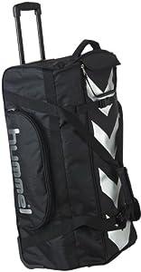 hummel 40 931 2001 sac de voyage roulettes noir 73 x 41 5 x 32 cm sports et loisirs. Black Bedroom Furniture Sets. Home Design Ideas