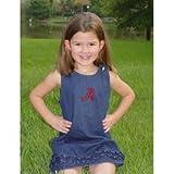 Alabama Crimson Tide Sara Lynn Toggs Ruffle Jumper