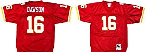Len Dawson Signed Kansas City Chiefs Throwback Mitchell & Ness Jersey with SB IV... by Sports Memorabilia
