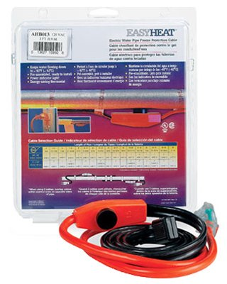 Easy Heat Ahb-013 3-Ft. Electric Water Pipe Freeze Protection Cable - Quantity 10