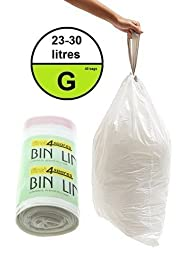 First4Spares Bin Bags For Brabantia Waste Bins Size G