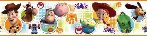 RoomMates RMK1429BCS Toy Story 3 Peel & Stick Wall Border