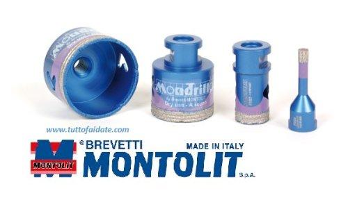 """frese diamantate montolit """"mondrillo"""" art.FS da utilizzare con smerigliatrici-35 mm"""