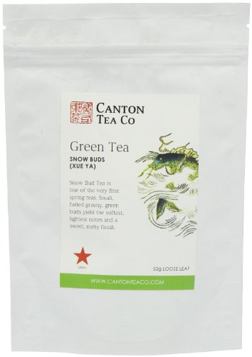 Canton Tea Snow Buds Green Tea Refill Pack 50 g