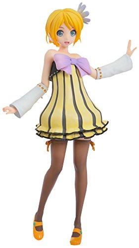 Sega Project Diva Arcade Future Tone Kagamine Rin Super Premium Action Figure Cheerful Candy, 9.4
